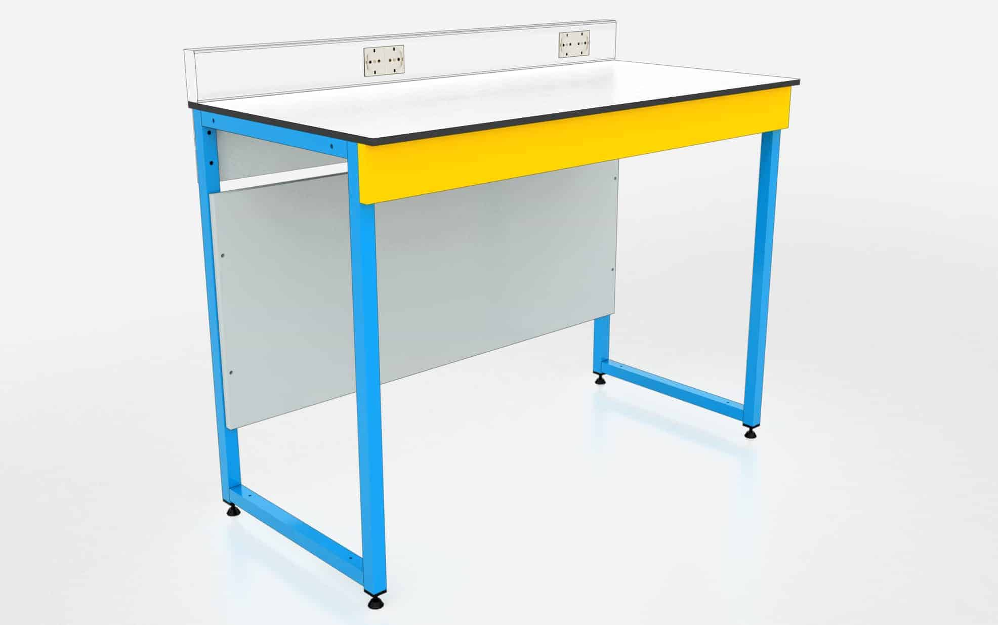 Mesa para laboratorio de física