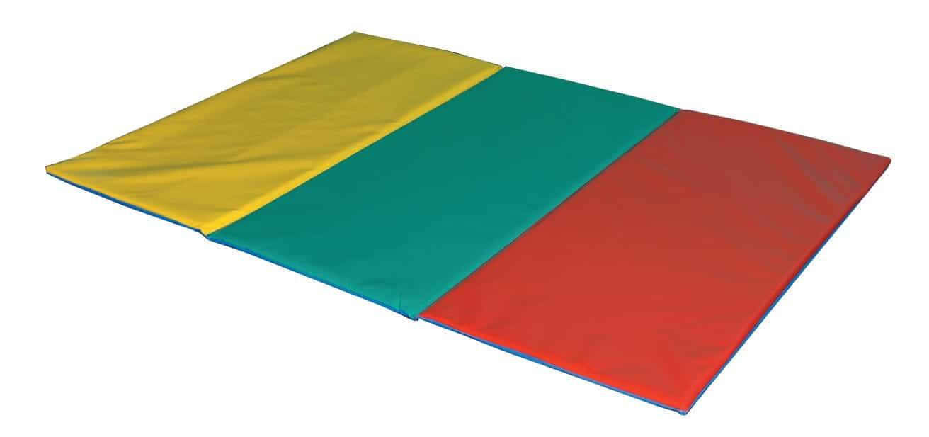 Colchoneta Tatami Multicolor Plegable 3 Cuerpos