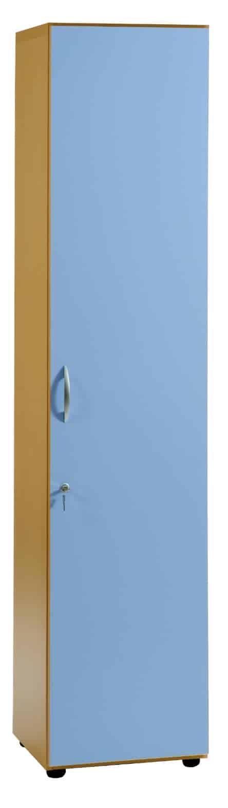 Armario Alto 1 puerta 5 huecos