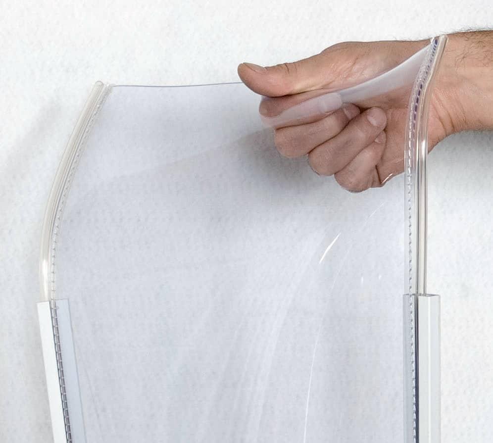 Protector para puertas salva dedos de vinilo