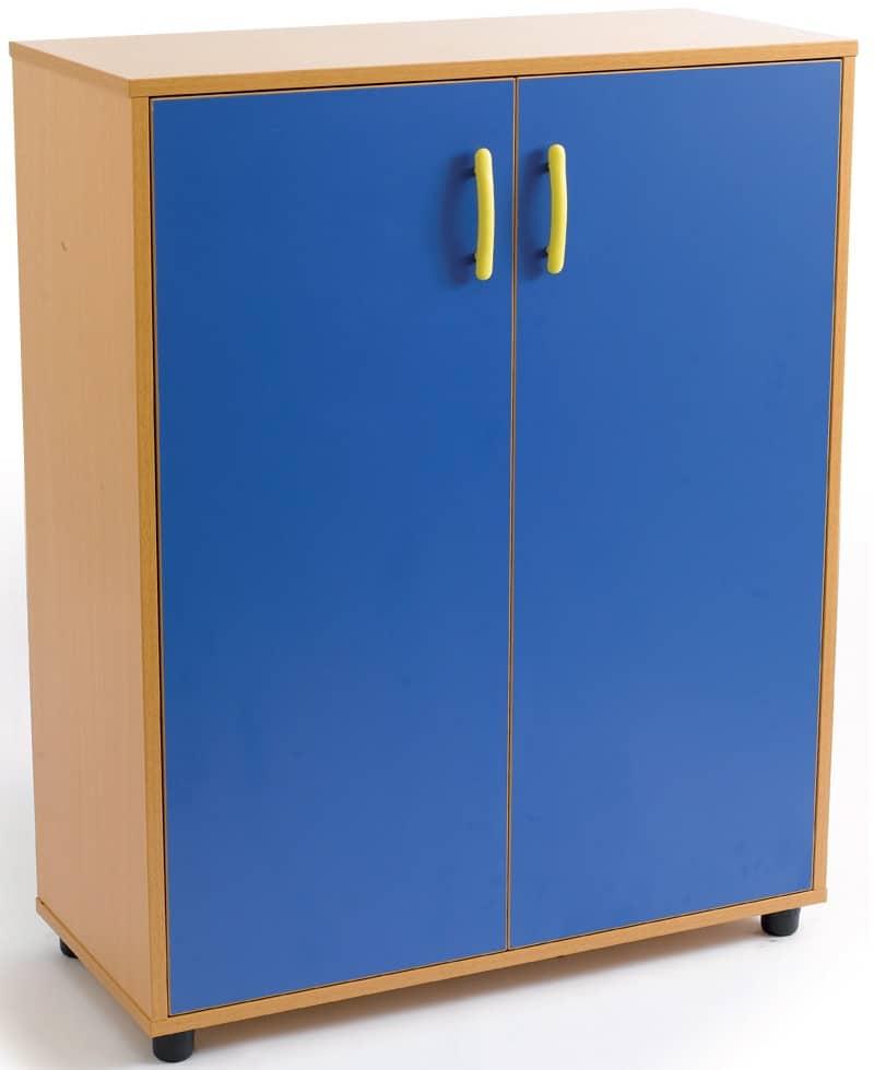 Armario intermedio. 2 puertas. 3 huecos