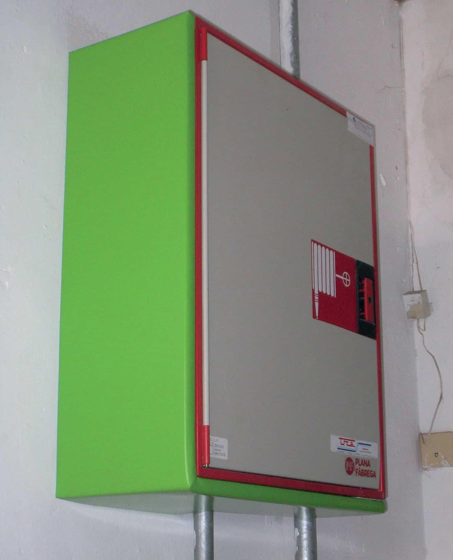 Protección Caja Incendios