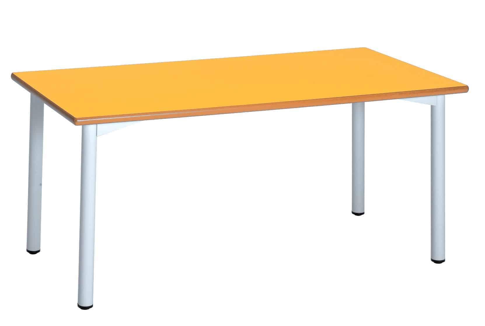 Mesa rectangular escuela niños