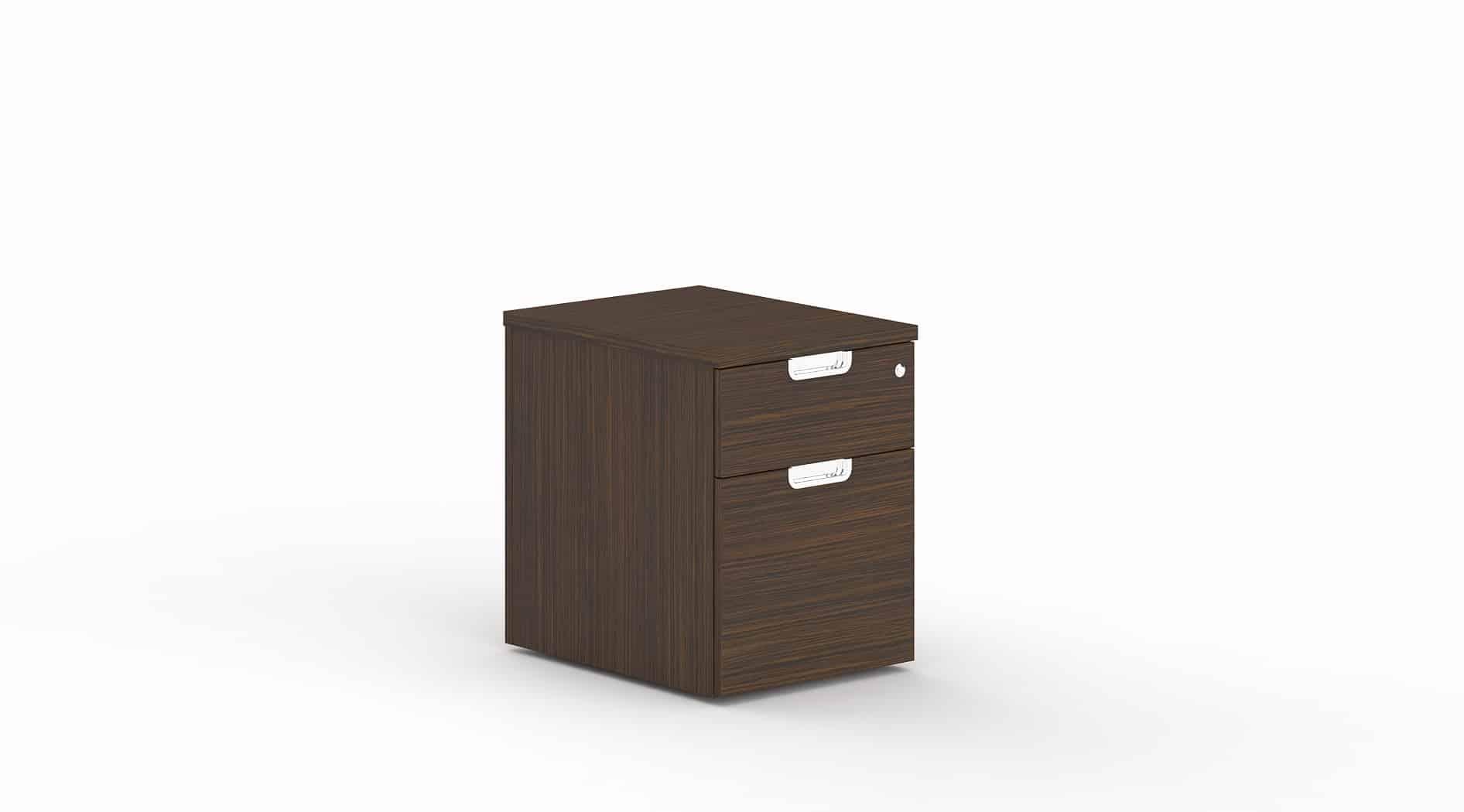 Cubeta 1 Cajón + 1 Archivo