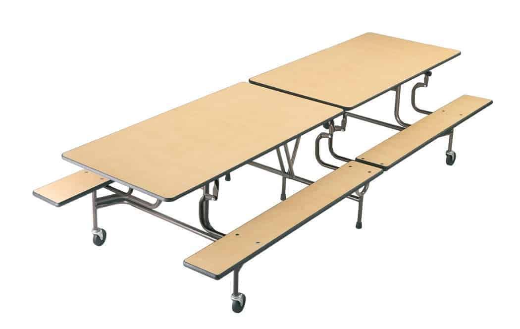 Mesa plegable m vil con bancos mesas con asientos mesas for Mesa plegable con asientos