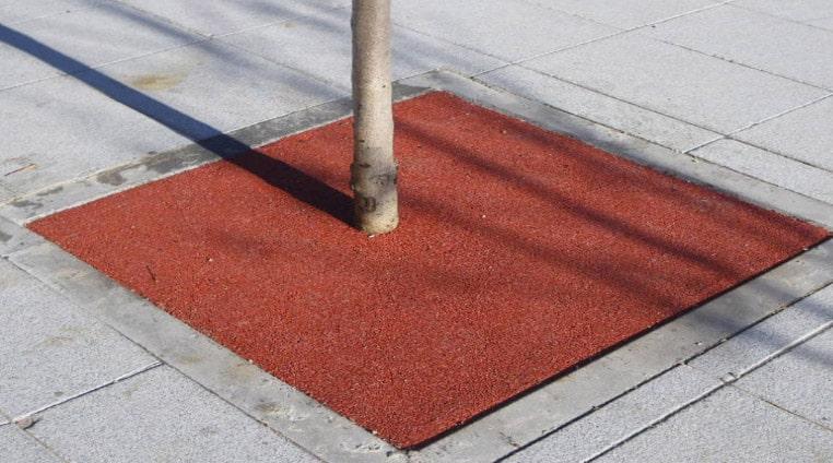Pavimento Amortiguador Contínuo para Alcorques