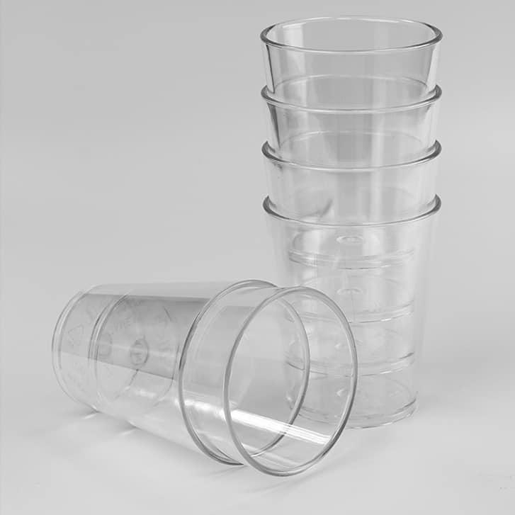 Vaso ABS Transparente