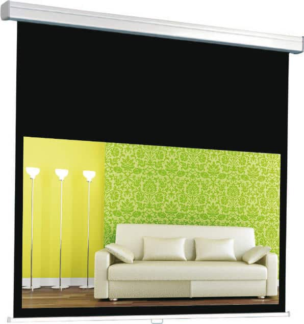 Pantalla eléctrica Traulux Premium EF Cinema 244x186cm